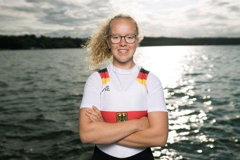 Hanna Winter. Foto: DRV/Schwier