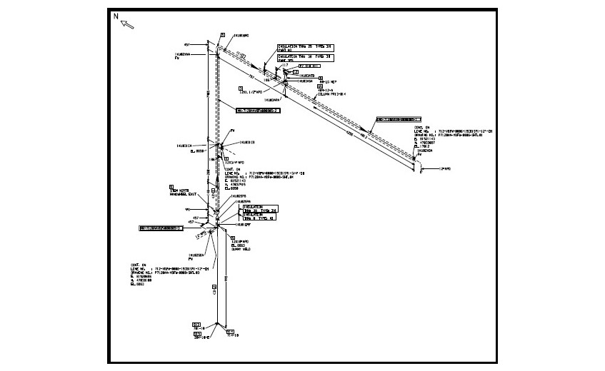 As-Built Documentation for Petrochemical Plant