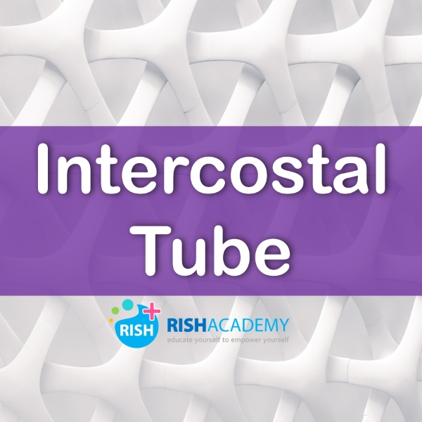 intercostal tube medicine