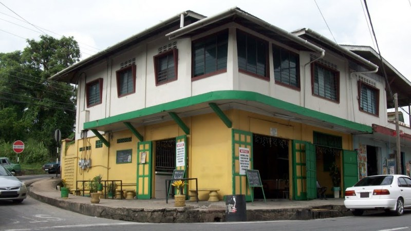 A rum shop is where the common Trini man drinks. The only females are usually waitresses. Most women look down on other women who actually drink in rum shops.