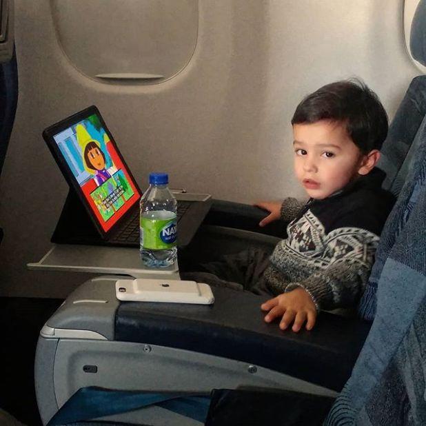 Air Canada J Class baby ... #peibrownguyinYYZ #PEIBrownBabainYYZ #ConsultantinTraining