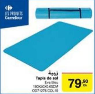 promotion tapis de sol