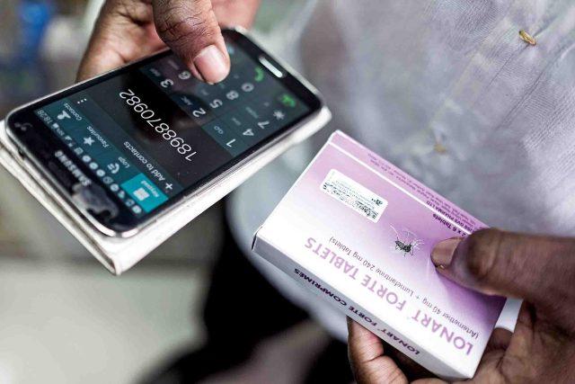 Simons has put MPedigree codes on more than 500 million drug packets. Photographer: Nana Kofi Acquah