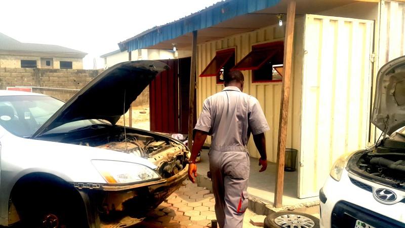 Image result for Taiwo Abiri youtube mechanic