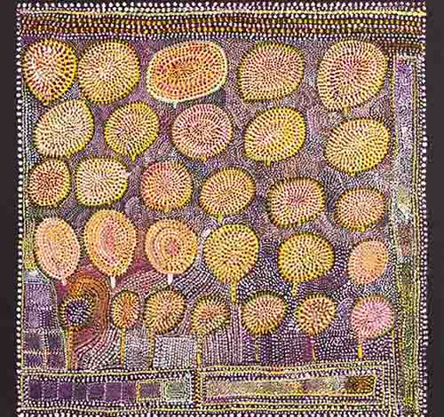Loongkoonan, Nyikina people, Western Australia, Bush Tucker in Nyikina Country, 2006 IMAGE: .COURTESY THE ARTIST AND MOSSENSON GALLERIES, PERTH