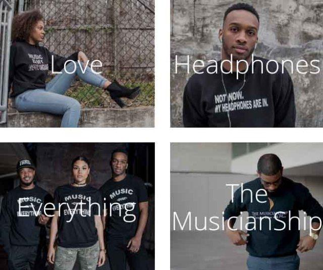 Musicianship shirts