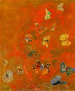 Odion Redon's Evocation of Butterflies