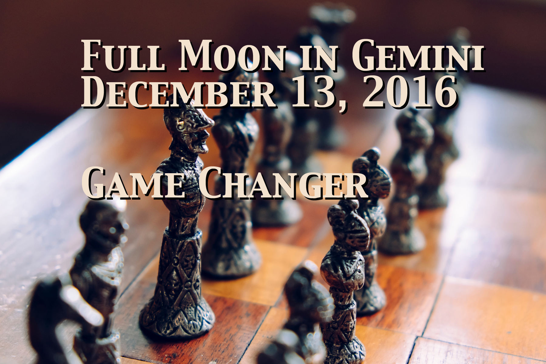 Full Moon in Gemini: Game Changer