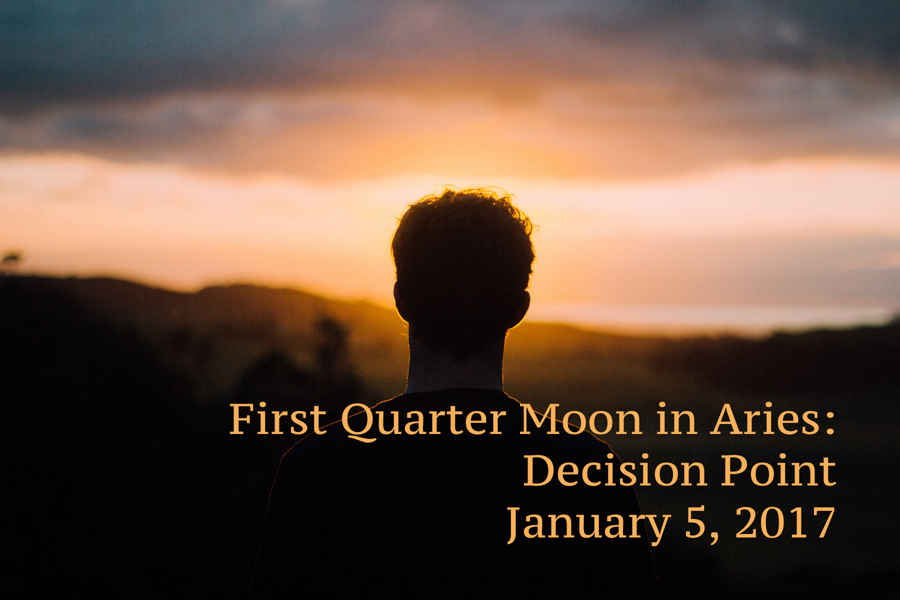 First Quarter Aries: Decision Point