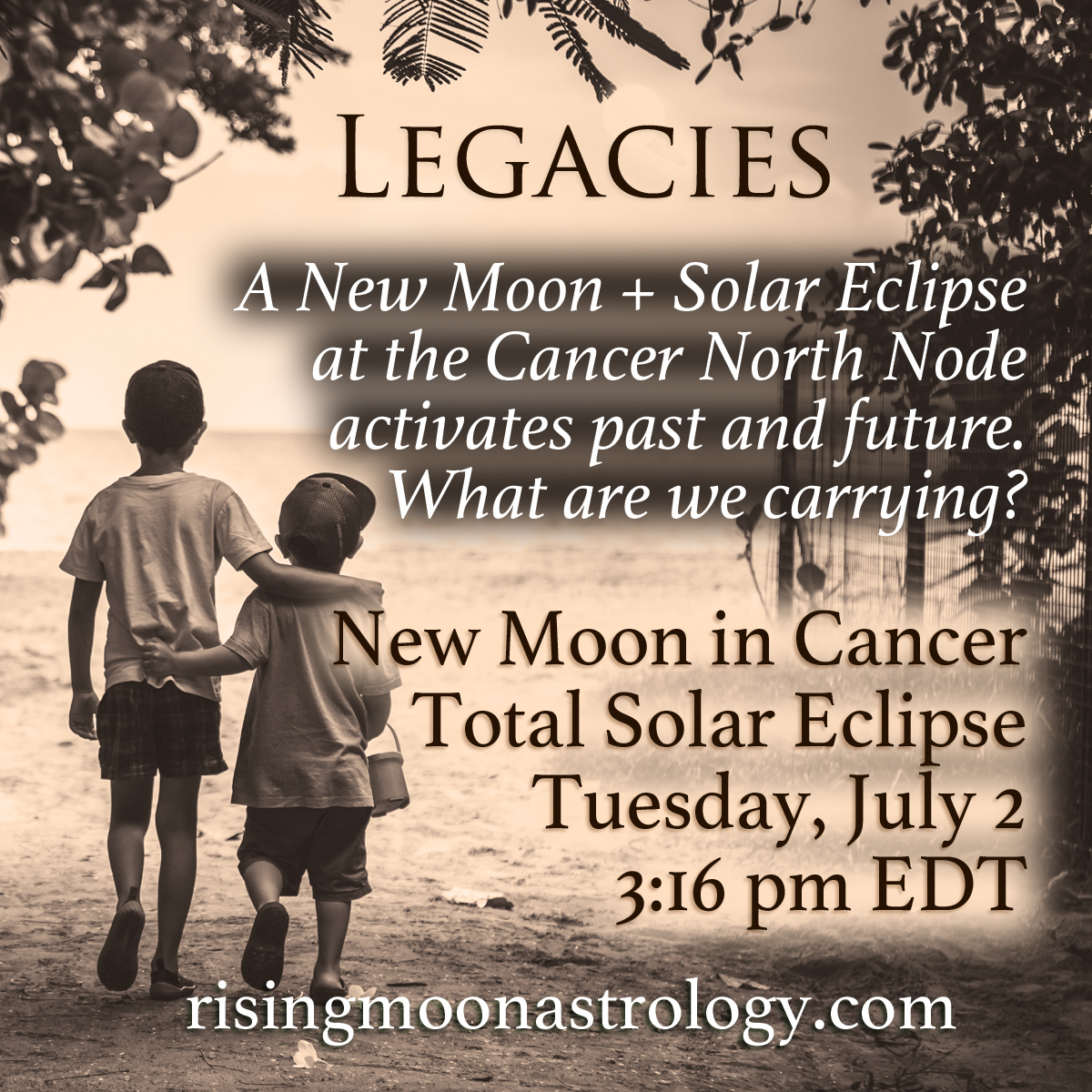 New Moon in Cancer: Legacies