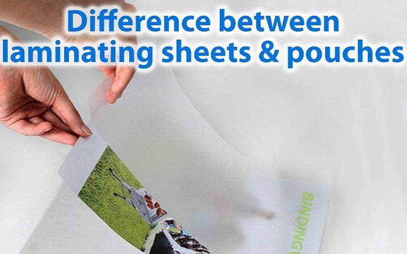 What are the differences between laminating pouches and sheets?