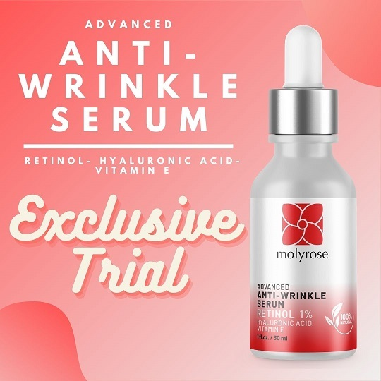 Anti wrinkle solution - exclusive trial