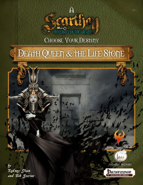 Death Queen and the Life Stone cover