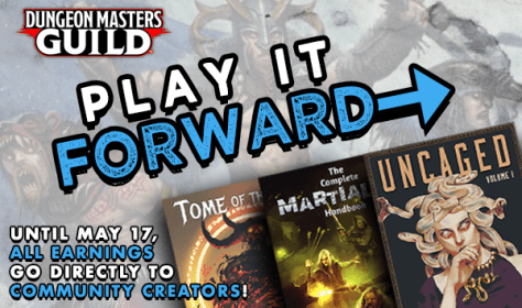 Play It Forward - Dungeons & Dragons