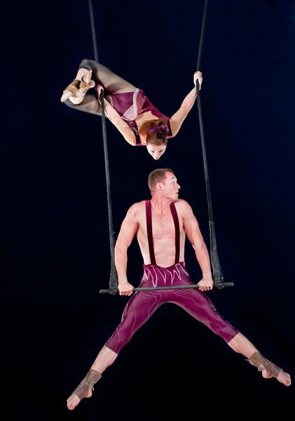Trapeze Duo 1081 International Talent Agency Rising Stars