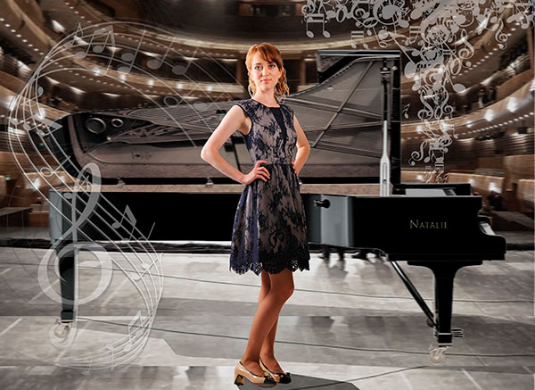 Female Pianist 106270 International Talent Agency Rising Stars