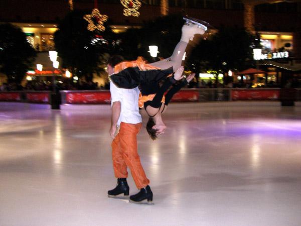 Ice Acrobatics Duo