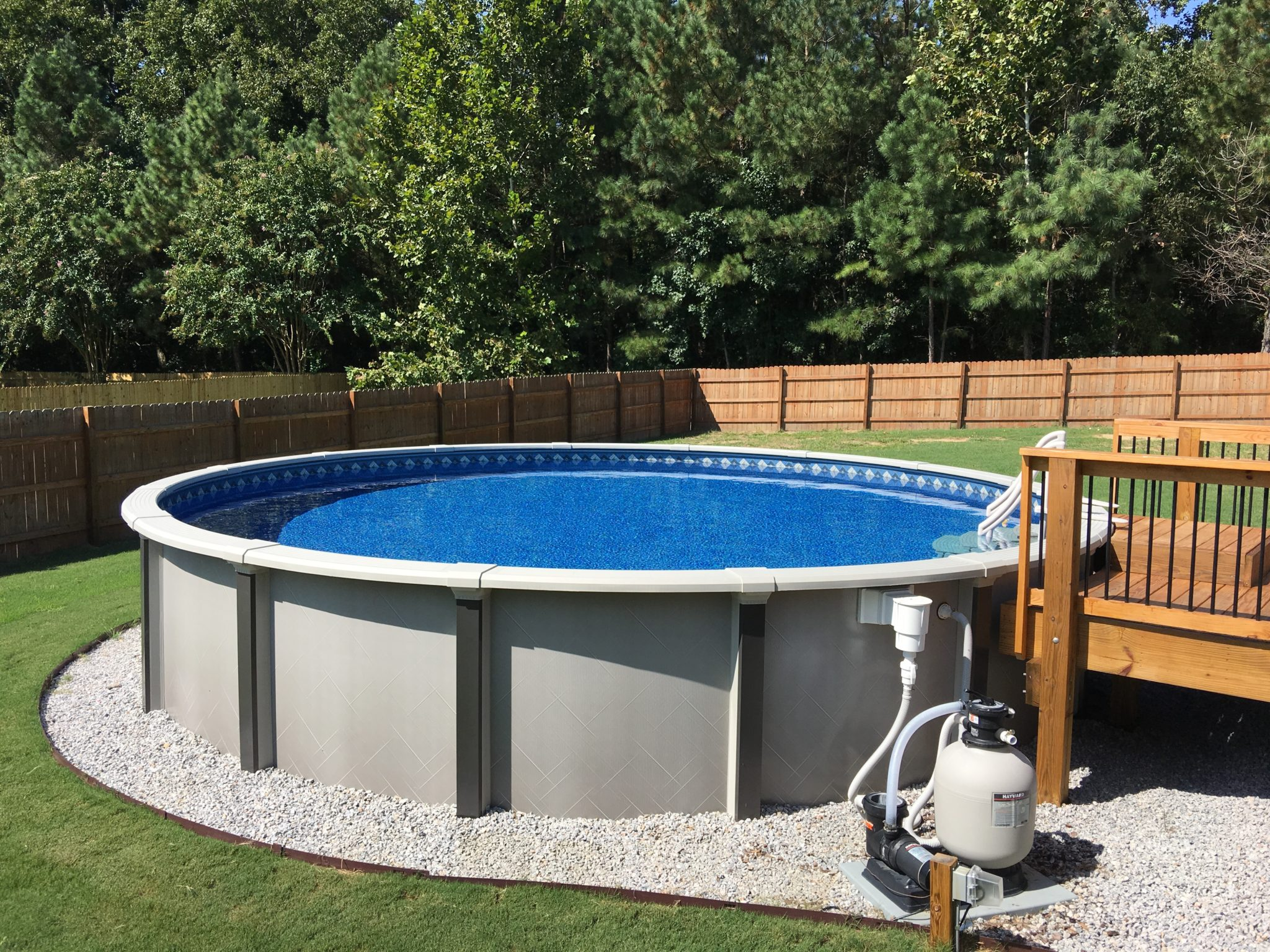 Above Ground Pools  Raleigh NC  Wake Forest NC  Rising Sun Pools