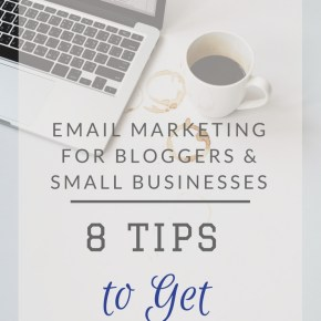 Email marketing for small businesses: 8 tips to get you started