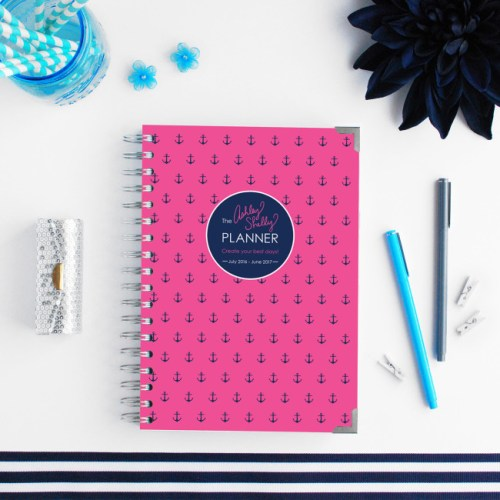 The Ashley Shelly planner comes from budget planning maven, Ashley Shelly.