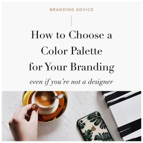 How to Choose a Color Palette for Your Branding