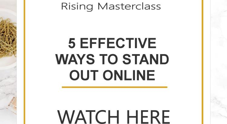 """If you're wondering, """"Well how the heck can I make my website stand out online?"""" Well in the episode I'm covering 5 steps to make your website stand out!"""