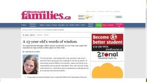 Montreal Families Magazine