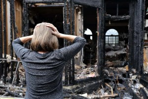 What damage does fire cause