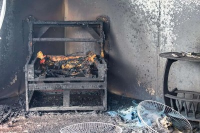 What does insurance cover after a fire