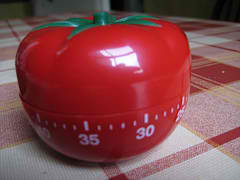 Pomodoro Timer by Andy Roberts. License: http://creativecommons.org/licenses/by/2.0/deed.en. Source: http://www.flickr.com/photos/aroberts/6332067642