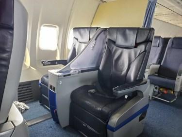 ANA329便(名古屋→宮古)プレミアムクラス搭乗記 アップグレードポイント利用 2時間30分のフライトでゆっくり食事が出来る
