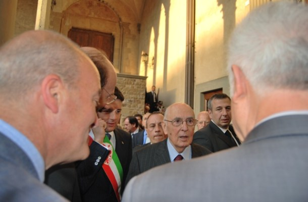 Napolitano incontra i rappresentanti del comitato