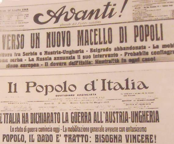 L'Avanti e i socialisti italiani contro la guerra