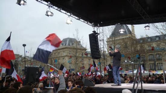 Melenchon, il candidato della sinistra socialista in Francia