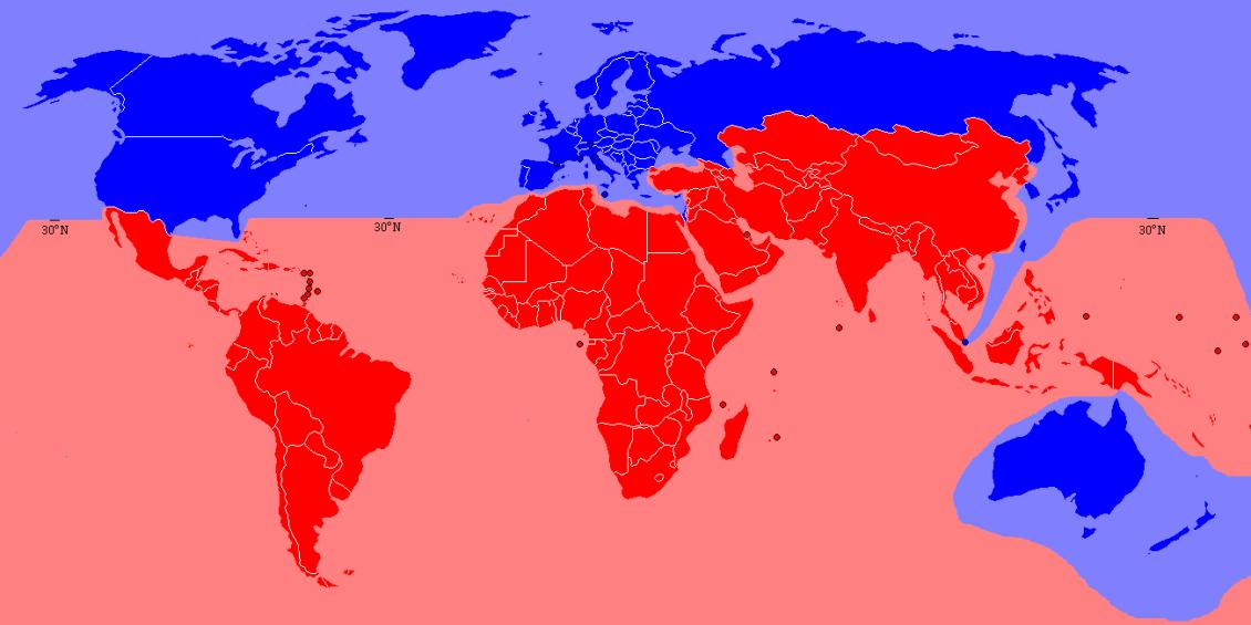I paesi ricchi hanno bisogno della globalizzazione per esaurimento mercato interno