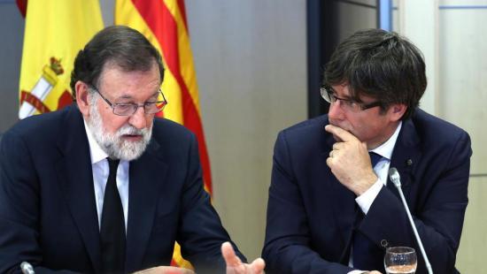 Rajoy contro Puigdemont - Spagna e Catalogna