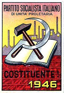 PISUP secondo partito alla Costituente