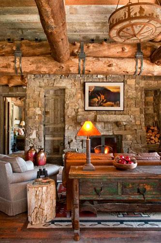 Casa in legno sul lago
