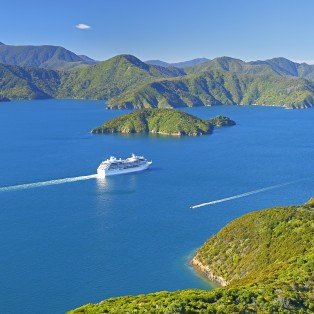 Marlborough Sounds, New Zealand.