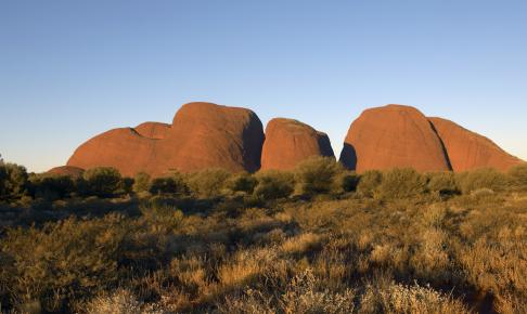 Mount Olga i Northern Territory