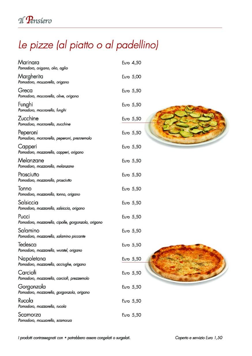 pizze al piatto o padellino