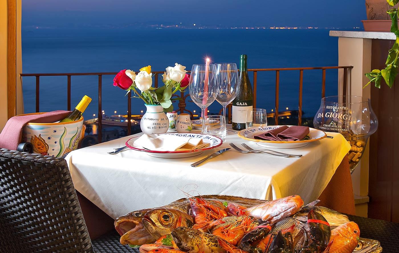 Ristorante da Giorgio  Capri specialit di pesce in Piazzetta