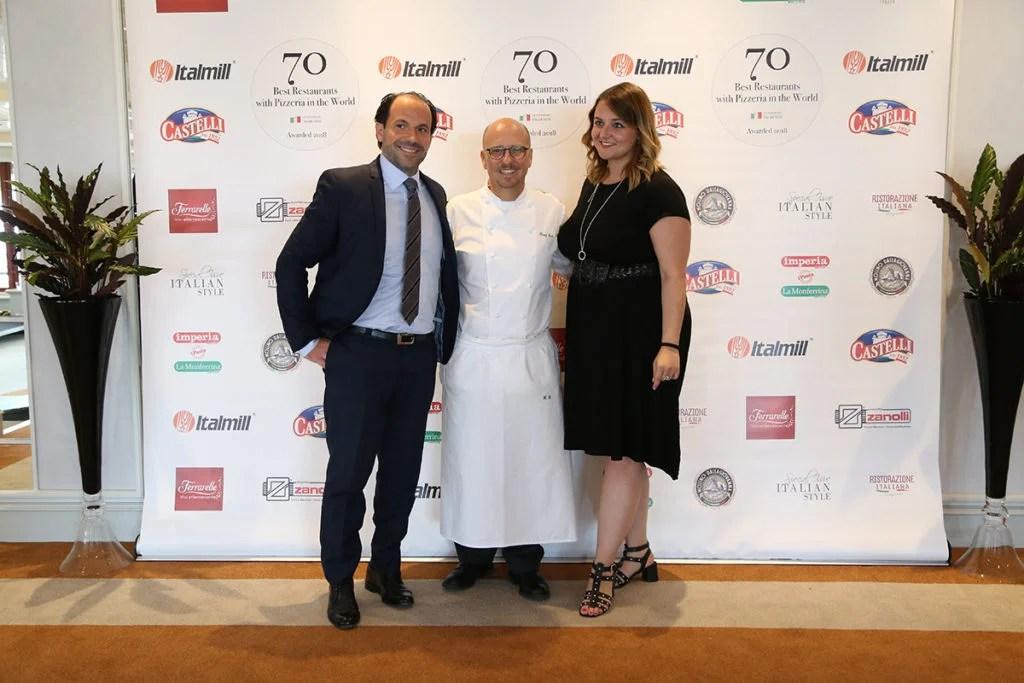70 Migliori Ristoranti con Pizzeria al mondo la cerimonia