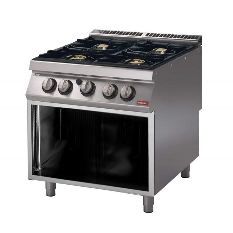Noleggio cucina gas 4 fuochi  Ristorent