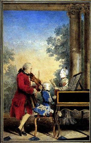 Un genio musicale in un corpo di donna: Nannerl Mozart con il padre e il fratello