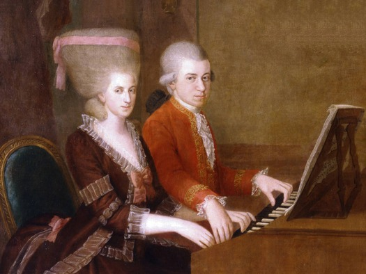 Wolfgang e Nannerl Mozart: un rapporto fraterno?