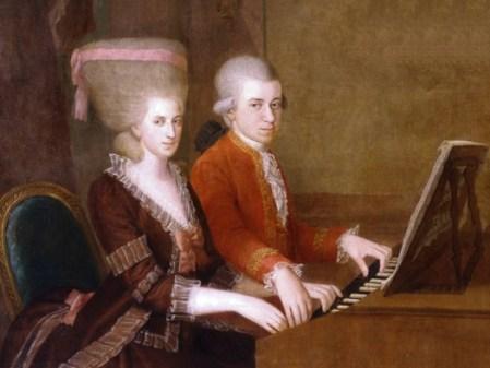 Wolfgang e Nannerl Mozart