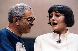 Rita Charbonnier con Nino Manfredi