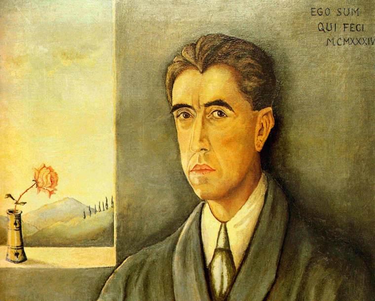 Piero Calamandrei   Autoritratto, olio su tela, 1934