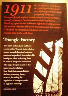 8 marzo: la bufala. L'incendio della fabbrica Triangle